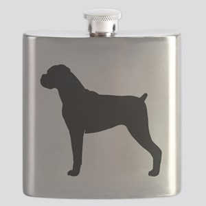 Boxer Dog Flask