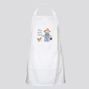Here Chick Chick! Apron