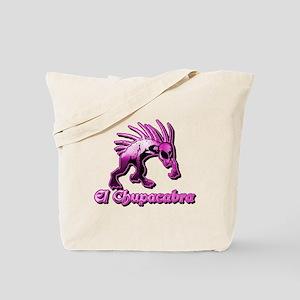 Chupacabra Pink Plain Tote Bag