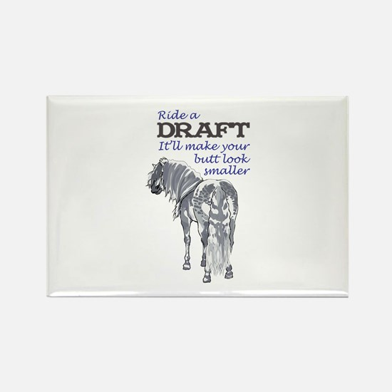 RIDE A DRAFT Magnets