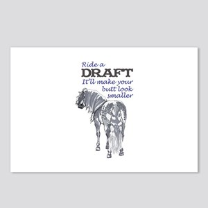 RIDE A DRAFT Postcards (Package of 8)