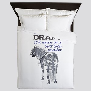 RIDE A DRAFT Queen Duvet
