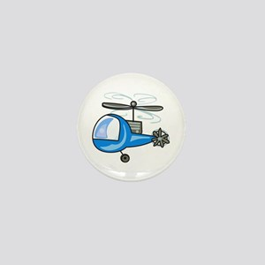 CHILDRENS HELICOPTER Mini Button