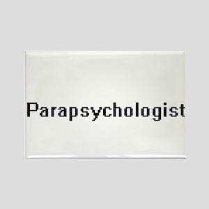 Parapsychologist Retro Digital Job Design Magnets