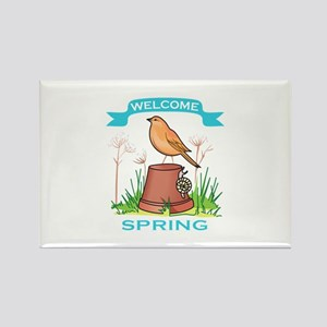 WELCOME SPRING Magnets