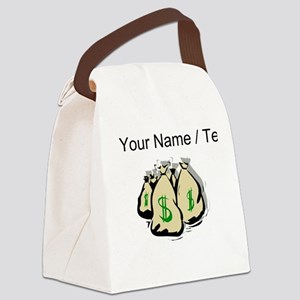 Money Bags (Custom) Canvas Lunch Bag