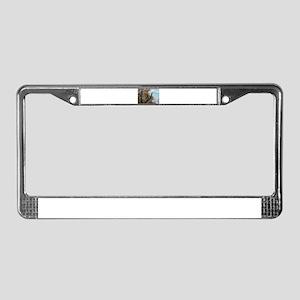 Tree Surgeon License Plate Frame