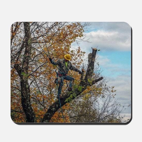Tree Surgeon Mousepad