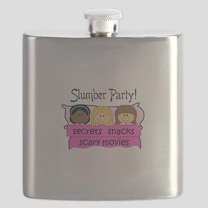 GIRLS SLUMBER PARTY Flask