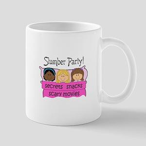 GIRLS SLUMBER PARTY Mugs