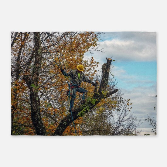 Tree Surgeon 5'x7'Area Rug