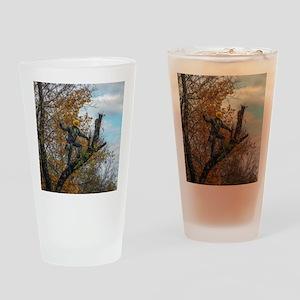 Tree Surgeon Drinking Glass