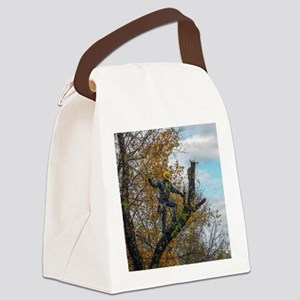 Tree Surgeon Canvas Lunch Bag