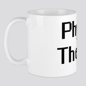 Physical Therapist Retro Digital Job De Mug