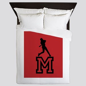 Baseball Star Queen Duvet