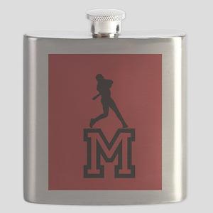 Baseball Star Flask