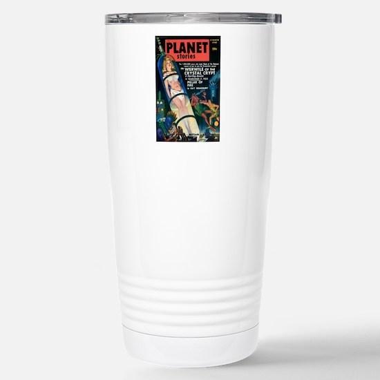 PLANET STORIES-VINTAGE PULP MAGAZINE COVER Travel