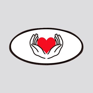 OPEN HANDS HOLDING HEART Patch