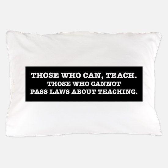 Funny Education Pillow Case