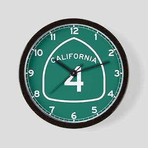 Route 4, California Wall Clock