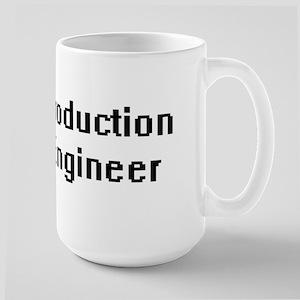 Production Engineer Retro Digital Job Design Mugs