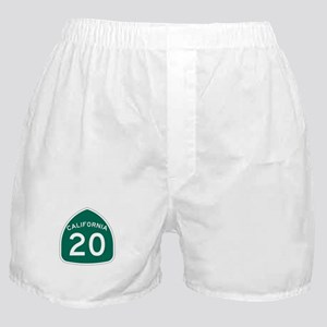 Route 20, California Boxer Shorts