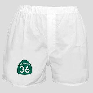 Route 36, California Boxer Shorts