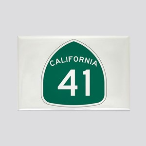 Route 41, California Rectangle Magnet