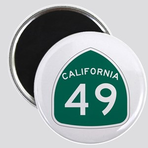 Route 49, California Magnet