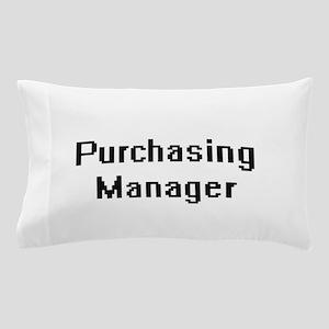 Purchasing Manager Retro Digital Job D Pillow Case