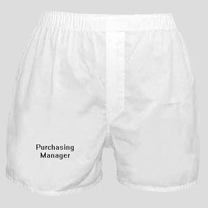 Purchasing Manager Retro Digital Job Boxer Shorts