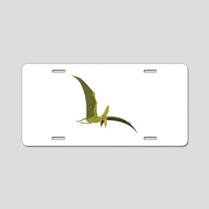 Flying Pterodactyl Aluminum License Plate