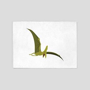 Flying Pterodactyl 5'x7'Area Rug