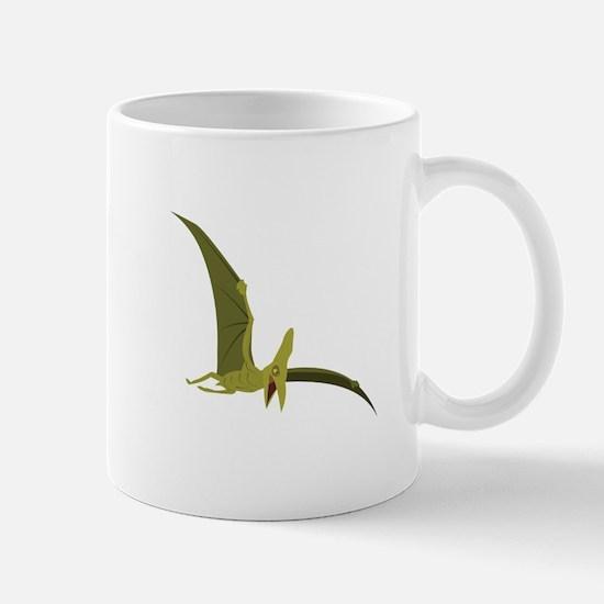 Flying Pterodactyl Mugs