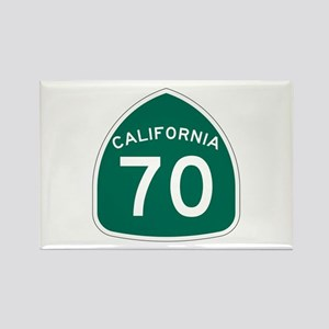 Route 70, California Rectangle Magnet