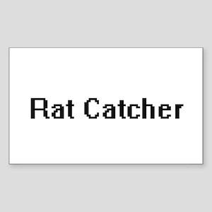 Rat Catcher Retro Digital Job Design Sticker