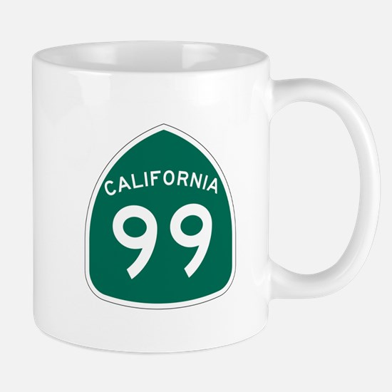 Route 99, California Mug