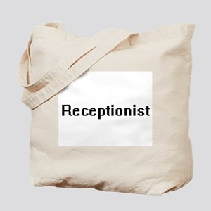 Receptionist Retro Digital Job Design Tote Bag
