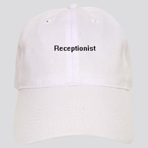 Receptionist Retro Digital Job Design Cap