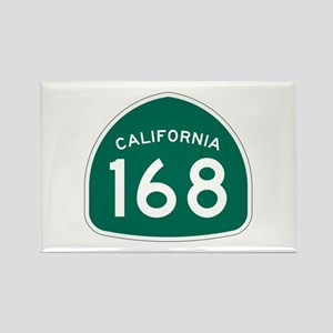 Route 168, California Rectangle Magnet