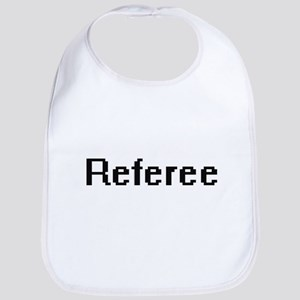 Referee Retro Digital Job Design Bib