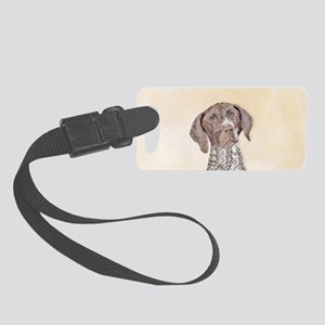 German Shorthaired Pointer Small Luggage Tag