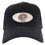German Shorthaired Pointer Black Cap with Patch