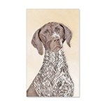German Shorthaired Pointer 20x12 Wall Decal
