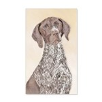 German Shorthaired Pointer 35x21 Wall Decal