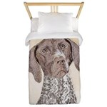 German Shorthaired Pointer Twin Duvet Cover