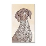 German Shorthaired Pointer Rectangle Car Magnet