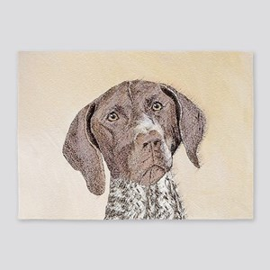 German Shorthaired Pointer 5'x7'Area Rug
