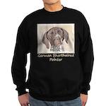 German Shorthaired Pointer Sweatshirt (dark)