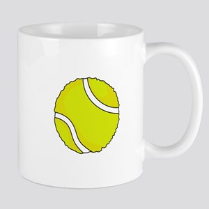 FUZZY TENNIS BALL Mugs